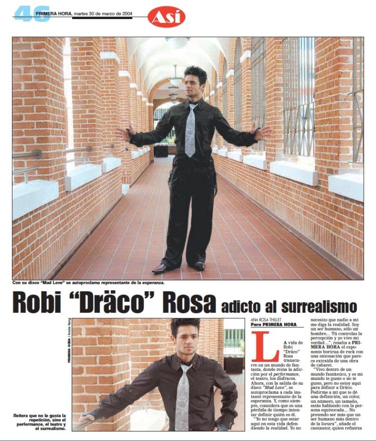 Robi Draco Rosa interview