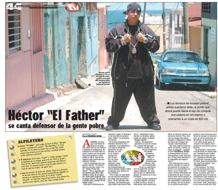 Héctor El Father interview