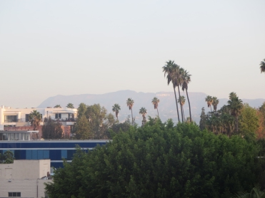 12) Hollywood sign as seen from The Line hotel